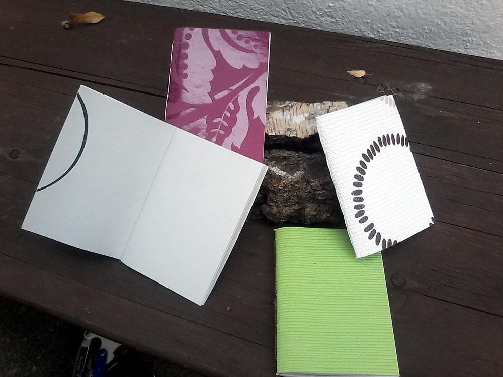 Upcycling-Kurs Hefte