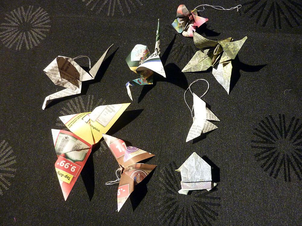 Upcycling-Kurs Origami